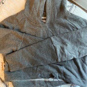 Gym shark crop hoodie